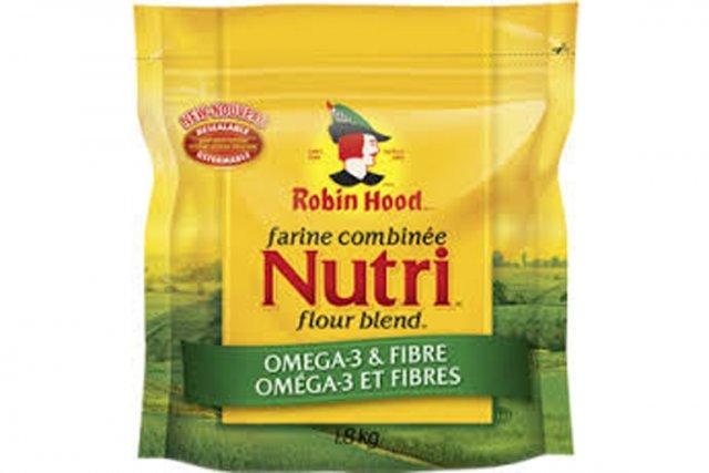 L'aliment sous la loupe cette semaine: la farine combinée Nutri oméga-3 et... (Photo fournie par Robin Hood)