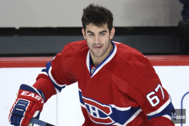 L'attaquant du Canadien de Montréal Max Pacioretty... (Photo Bernard Brault, Archives La Presse)