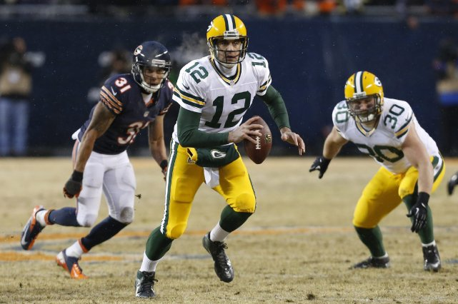 Aaron Rodgers... (Photo Charles Rex Arbogast, AP)