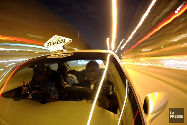 Les conducteurs de taxi de la métropole rencontrés... (Photo Bernard Brault, Archives La Presse)