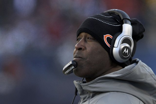 Lovie Smith aurait accepté un contrat de quatre saisons... (Photo JOHN GRESS, Reuters)