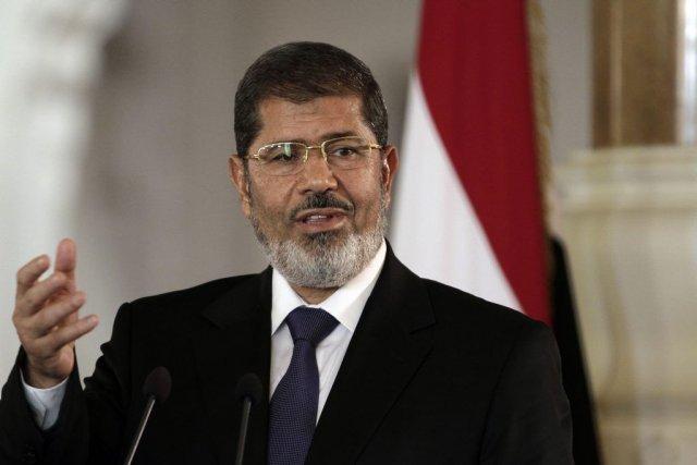 M. Morsi, premier président élu démocratiquement en Égypte... (Photo Maya Alleruzzo, AP)