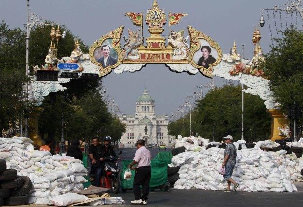 Les opposants au gouvernement, qui ont réuni jusqu'à... (PHOTO CHAIWAT SUBPRASOM, REUTERS)