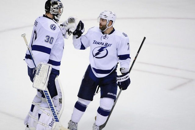Les Lightning de Tampa Bay ont battu les... (PHOTO Anne-Marie Sorvin, USA TODAY SPORTS)