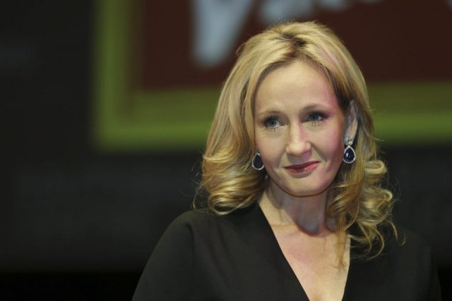 L'auteure JK Rowling... (Photo Lefteris Pitarakis, AP)