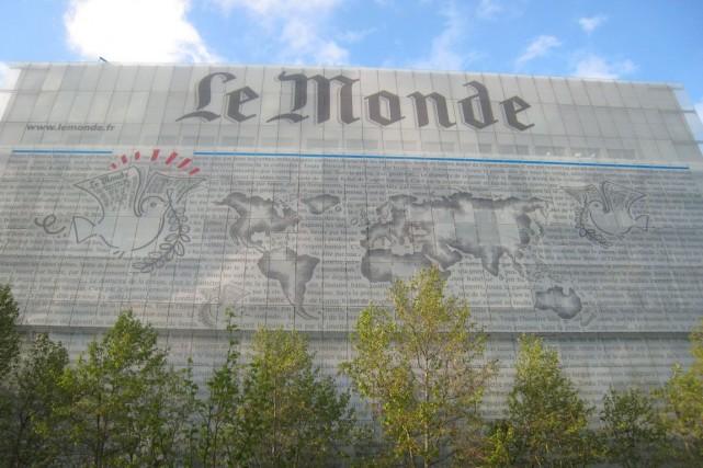 Pour diversifier ses activités, le quotidien français Le Monde... (Photo: archives AFP)