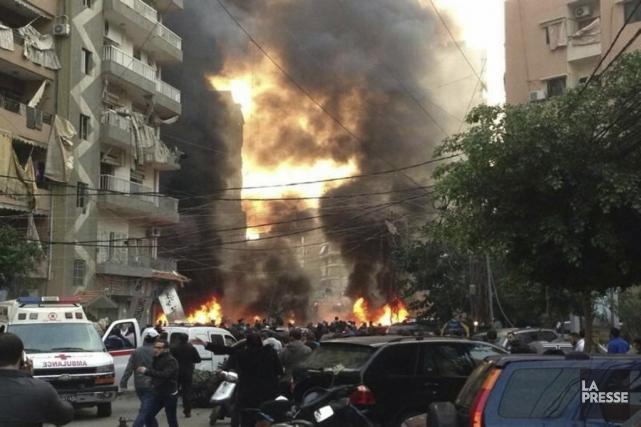 Cet attentat à la voiture piégée est survenu... (Photo Reuters)