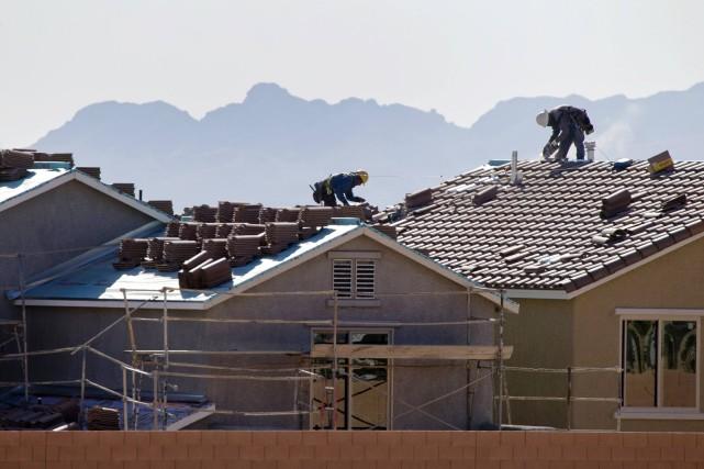 Les dépenses de construction aux États-Unissont en hausse... (PHOTO STEVE MARCUS, REUTERS)