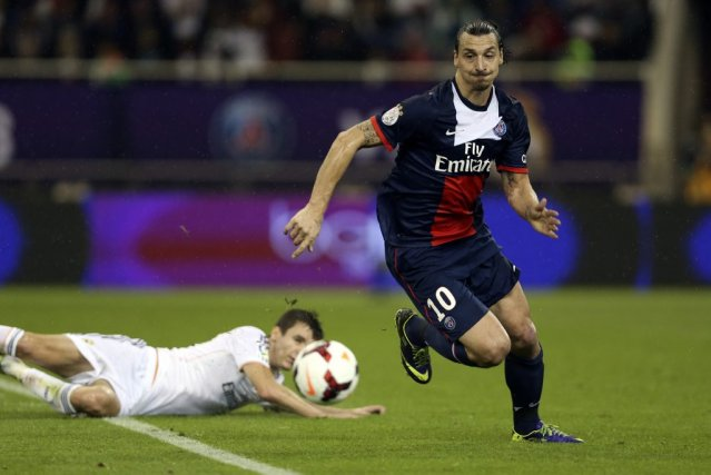 Le Real Madrid de Carlo Ancelotti a battu son ancien club le Paris SG 1-0 jeudi... (PHOTO FADI AL-ASSAAD, REUTERS)