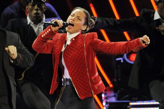 Alicia Keys fait partie des artistes qui monteront... (PHOTO ARCHIVES AP)