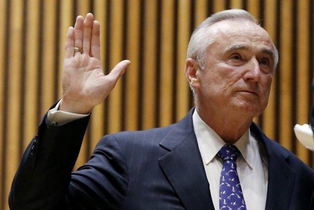 Bill Bratton, 66 ans, a souligné qu'il avait... (PHOTO MIKE SEGAR, REUTERS)