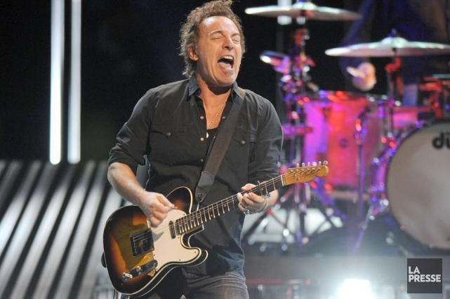 Bruce Springsteen... (Photo Archives La Presse)