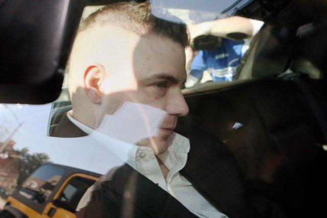 Michael Raffertypurge sa peine de prison à vie... (Photo DAVE CHIDLEY, PC)
