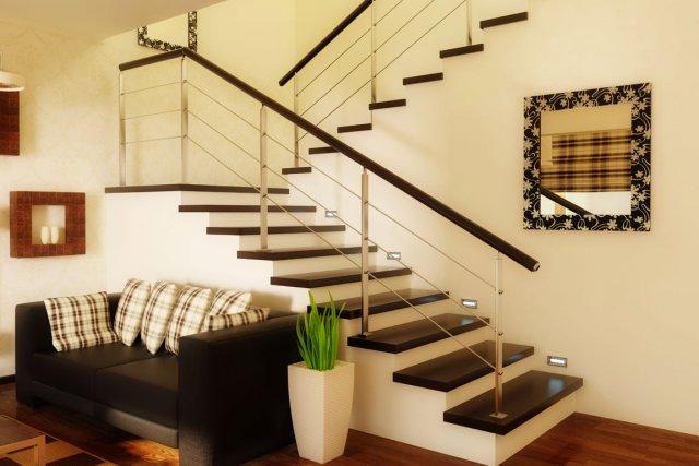 Idee Deco Cage D Escalier. Idee Deco Mur Escalier Fabriquer Un ...
