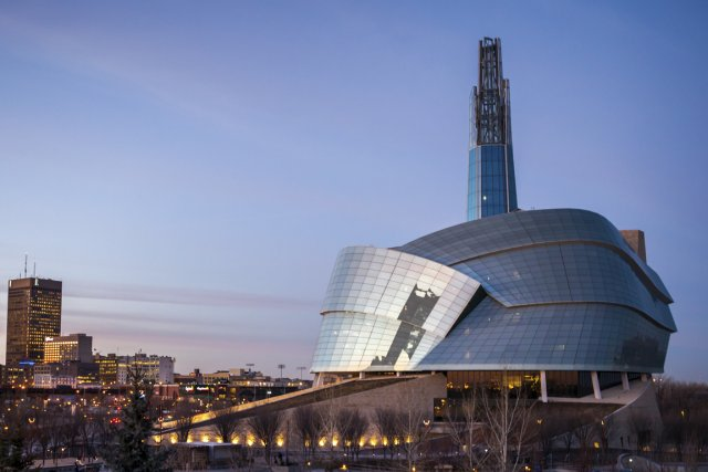 Le Musée canadien pour les droits de la... (PHOTO FOURNIE PAR LE MUSÉE CANADIEN POUR LES DROITS DE LA PERSONNE)