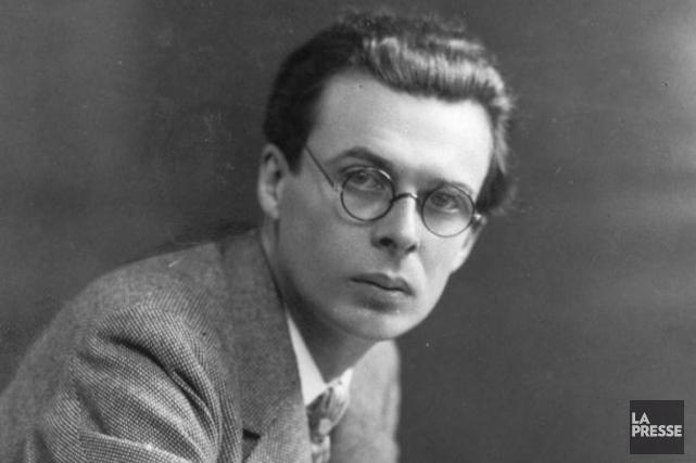 Jusqu'à sa mort, l'auteur Aldous Huxley a largement... (Photo archives La Presse)