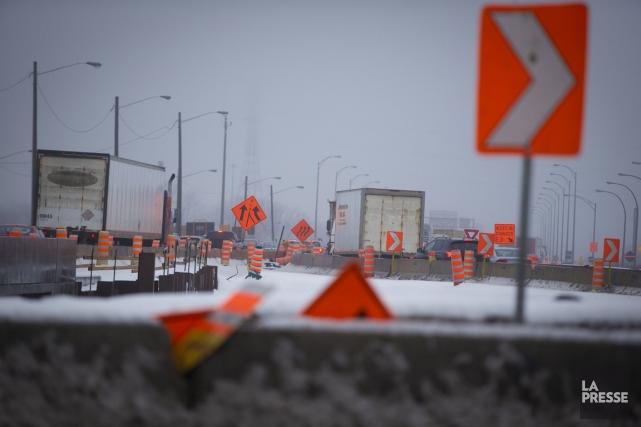 Trois accidents survenus en début de journée, vendredi, dans la région de... (Photo archives La Presse)