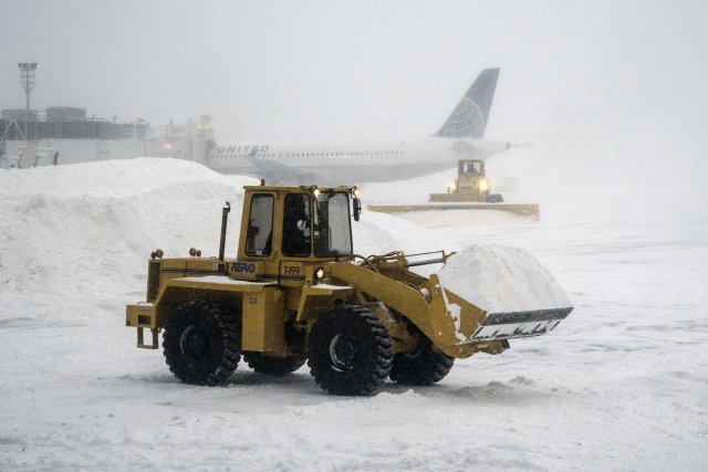 Les vols ont été suspendus à JFK «en... (Photo Reuters)