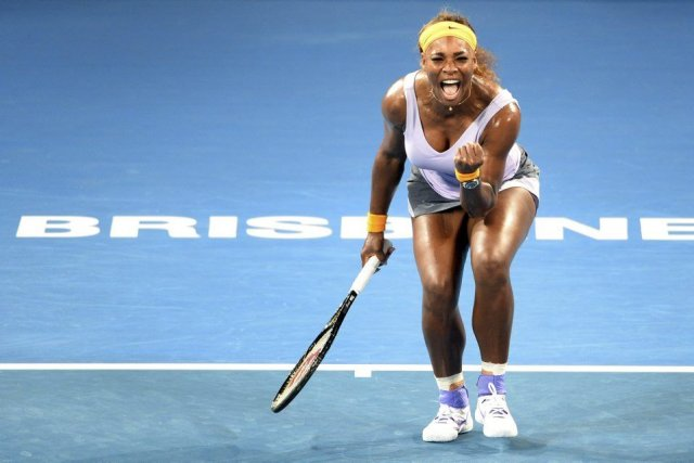 Serena Williams a eu le dessus 6-2, 7-6... (PHOTO WILLIAM WEST, AFP)