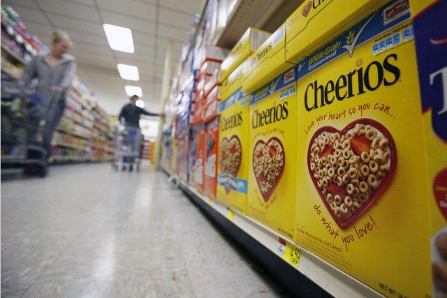 Le groupe agroalimentaire, qui possède notamment les glaces... (PHOTO David Duprey, archives AP)
