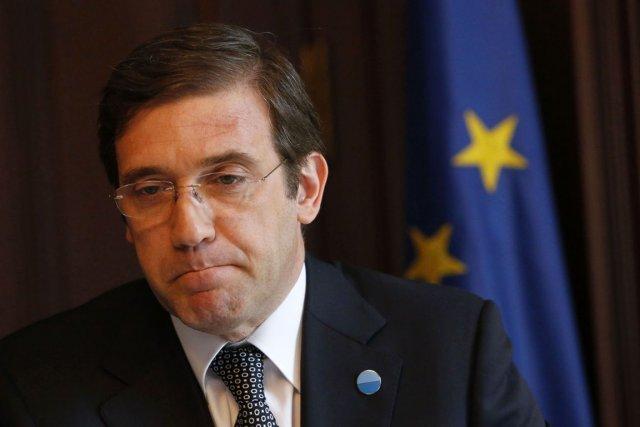 Le premier ministre du Portugal, Pedro Passos Coelho.... (Photo Tobias Schwarz, archives Reuters)