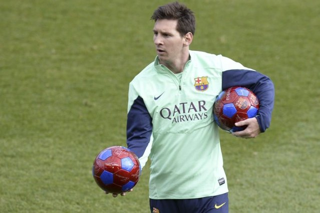 Lionel Messi... (PHOTO LLUIS GENE, AFP)