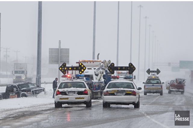 Environnement Canada prévoit un réchauffement de la température... (PHOTO IVANOH DEMERS, ARCHIVES LA PRESSE)