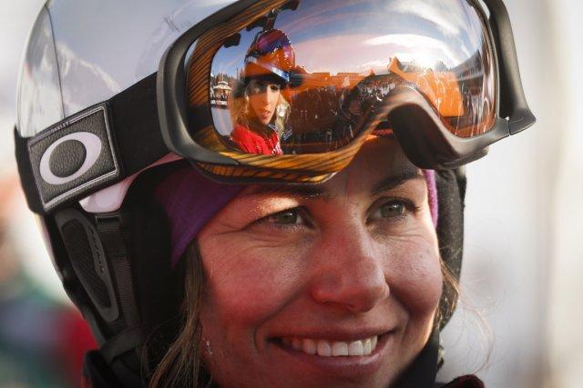 Maëlle Ricker... (Photo Jeff McIntosh, La Presse Canadienne)
