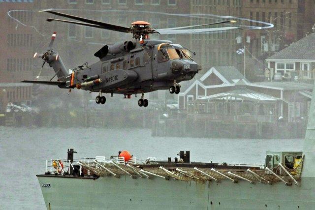 Un hélicoptère CH-148 Cyclone.... (Photo Andrew Vaughan, archives La Presse Canadienne)