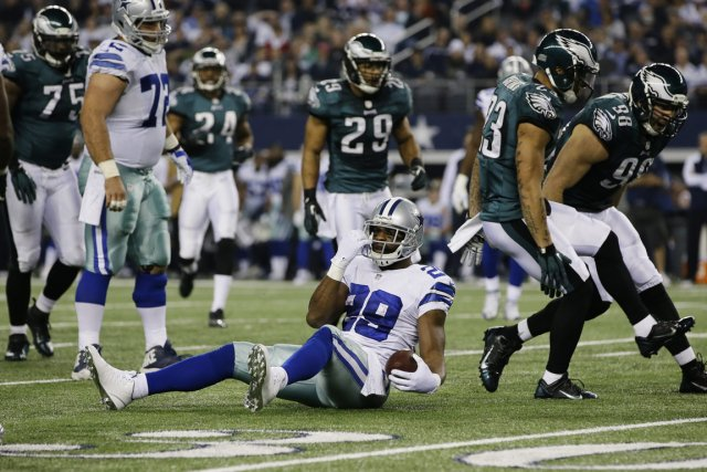 DeMarco Murray (29).... (Photo Tony Gutierrez, AP)