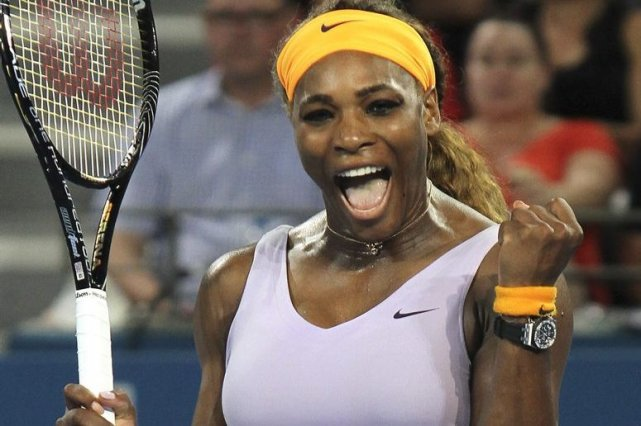 Serena Williams a signé sa 14e victoire en... (Photo Tertius Pickard, AP)
