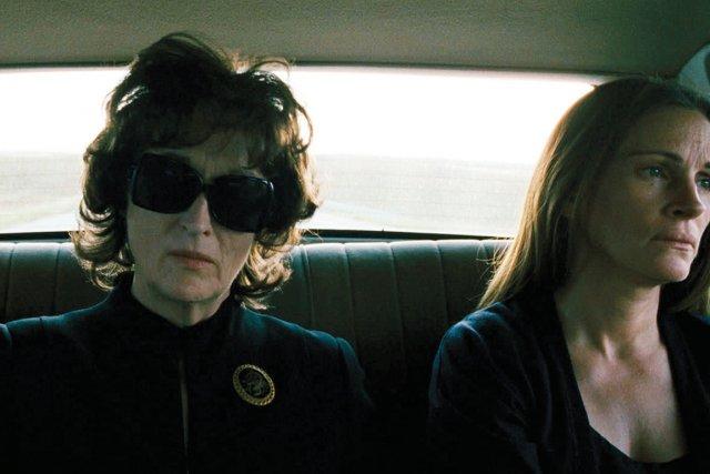 Meryl Streep et Julia Roberts dansAugust: Osange County.... (Photo fournie par la production)