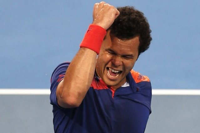 Jo-Wilfried Tsonga... (Photo Theron Kirkman, AP)