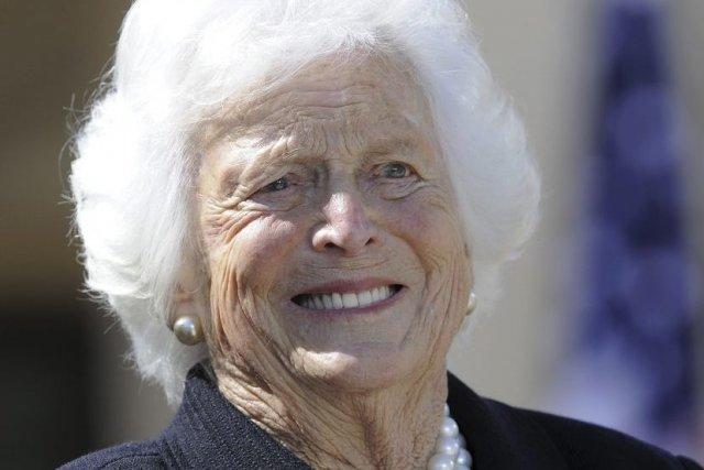 Âgée de 88 ans, l'ancienne première dame a... (PHOTO JEWEL SAMAD, AFP)