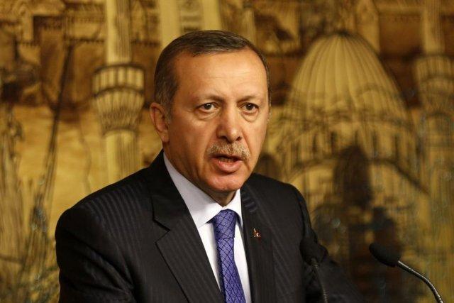 Le premier ministre turc Recep Tayyip Erdogan.... (PHOTO MURAD SEZER, REUTERS)