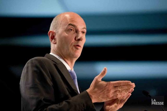 Roland Lescure est le chef des placements et... (PHOTO ALAIN ROBERGE, LA PRESSE)