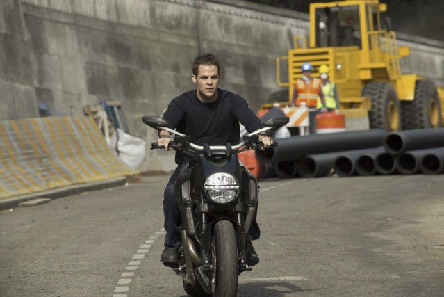 Chris Pine dans Jack Ryan: Shadow Recruit, à l'affiche le... (PHOTO FOURNIE PAR PARAMOUNT)