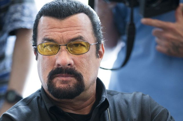 Steven Seagal... (PHOTO ARCHIVES AP)