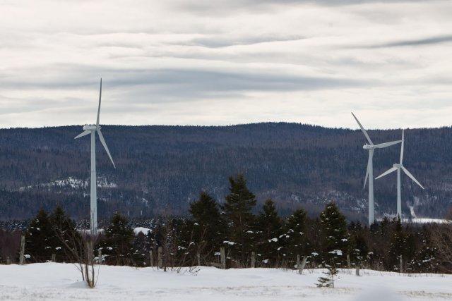 En général, les éoliennes excellent l'hiver en raison... (Photothèque Le Soleil)