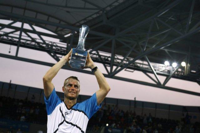 Lleyton Hewitt a mis fin à trois ans... (PHOTO JASON REED, AFP)