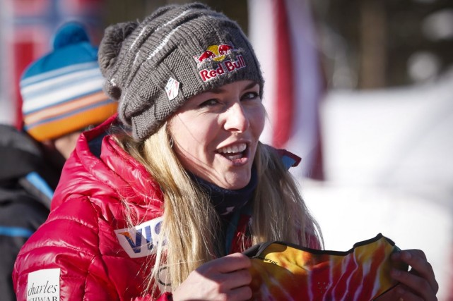 Lindsey Vonn... (Photo Jeff McIntosh, archives PC)