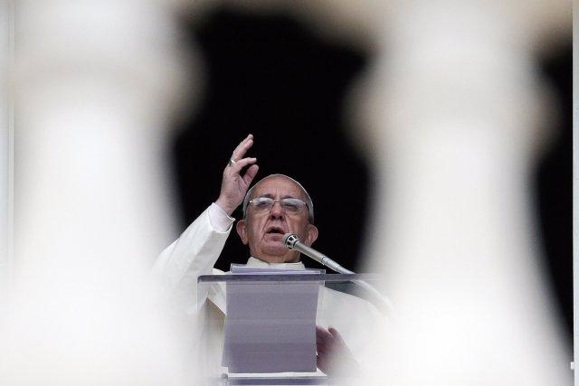 Le pape François avait été invité à la... (Photo MAX ROSSI, Reuters)