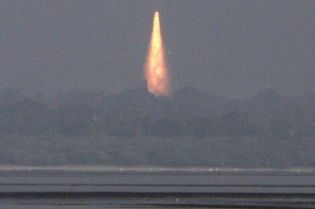 Les premiers lancements indiens se sont soldés par... (Photo REUTERS)