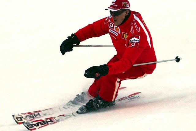 Le septuple champion de Formule Un Michael Schumacher... (Photo archives AP)