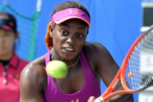 Sloane Stephens... (Photo Yoshikazu Tsuno, archives AFP)
