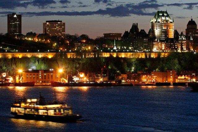 Le magazine de voyages Vacay.ca place Québec en second sur sa liste des 20... (PHOTO ARCHIVES REUTERS)