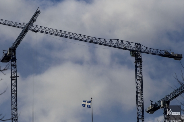 Depuis un mois, la Commission de la construction du Québec (CCQ) limite de... (PHOTO HUGO-SÉBASTIEN AUBERT, LA PRESSE)