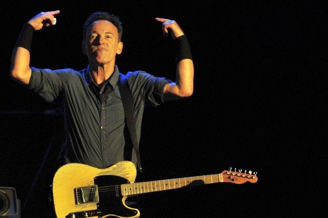 Bruce Springsteen... (PHOTO FRANCESCO DEGASPERI, AFP)