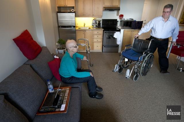 Grâce aux soins offerts par le CSSS du... (PHOTO Robert Skinner, La Presse)