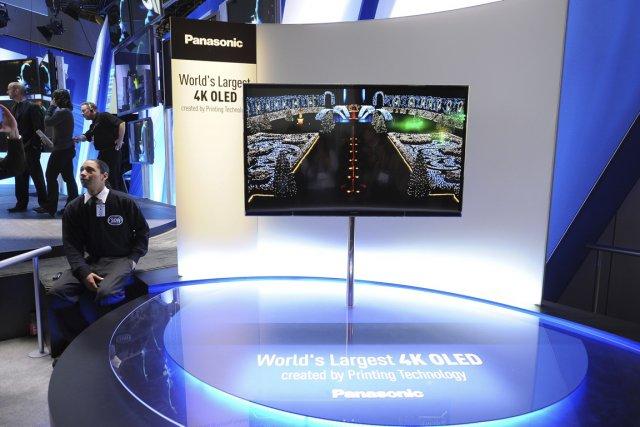 La technologieOLEDn'est pas prête à entrer dans tous... (PHOTO PANASONIC / ASSOCIATED PRESS)